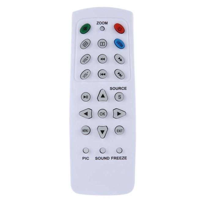ريموت كنترول للتحكم في العديد من مواصفات الجهاز